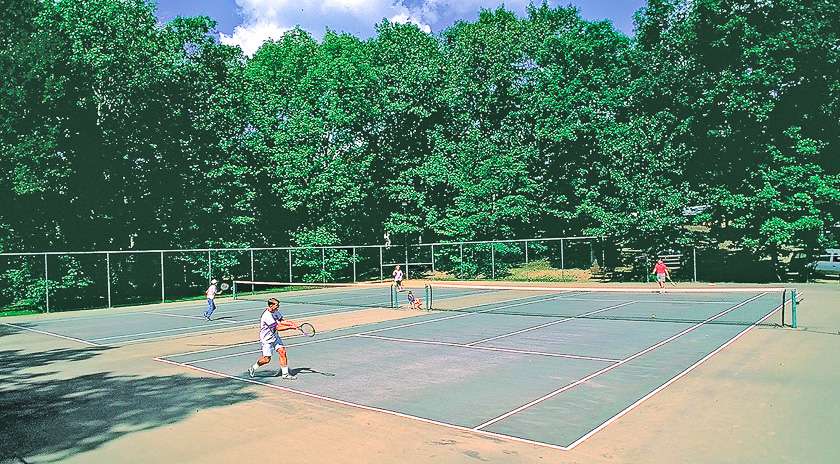 Witch Meadow Family Campground Tennis Court