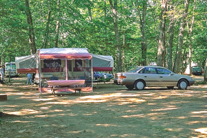 Witch Meadow Lake Campground Campsite
