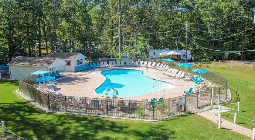 Witch Meadow Family Campground Pool