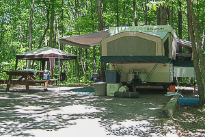 Pop Up Camping at Witch Meadow Family Campround